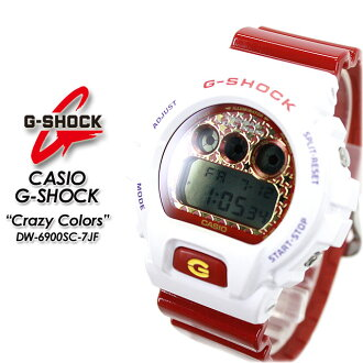 ★ domestic genuine ★ ★ ★ CASIO and g-shock クレージーカラーズ watch / DW-6900SC-7JF g-shock g shock G shock G-shock