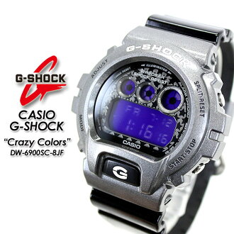 ★ domestic genuine ★ ★ ★ CASIO and g-shock クレージーカラーズ watch / DW-6900SC-8JF g-shock g shock G shock G-shock
