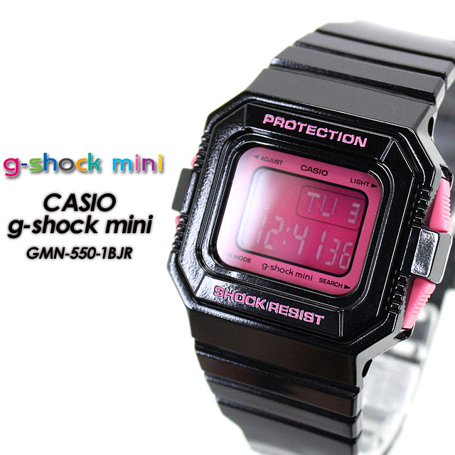 腕時計, レディース腕時計  G- GMN-550-1BJR BlackPink g-shock mini