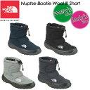 【THE NORTH FACE】ノースフェイス Nuptse Bootie Wool 3 Short 【ヌプシ ブーティー ウール 3 ショート(ユニセックス)】男女兼用 メンズ レディース ブーツ 長靴 NF51787