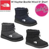 ノースフェイス【THE NORTH FACE】 NFW51879 W ヌプシ ブーティー ウール 4 ショート【W Nuptse Bootie Wool 4 Short】女性用 レディース ブーツ 長靴
