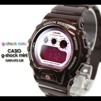 CASIO/G-SHOCK/G shock G-shock G-shock mini g-shock mini / women Watch GMN-692-5JR/brown/pink Lady's [fs01gm]