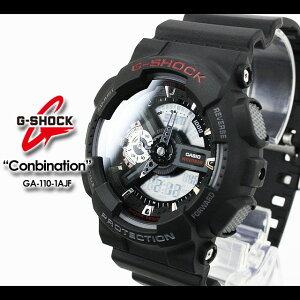 ★送料無料★CASIO/G-SHOCK/g-shockgショックGショックG−ショック【カシオジーショック】【コンビネーションモデル】腕時計GA-110-1AJF/matteblack【smtb-TK】