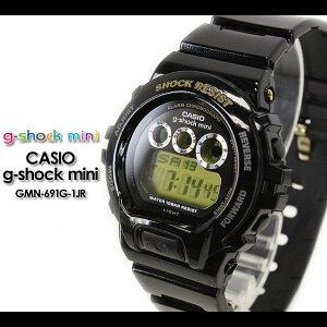 CASIO/G-SHOCK【カシオジーショック】【G-ショックミニ】腕時計GMN-690G-1JR/black