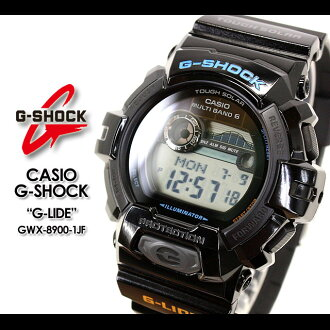 CASIO/G-SHOCK/g-shock g shock G shock G- shock [G-LIDE] G ride 2012 summer model watch /GWX-8900-1JF/black [fs01gm]