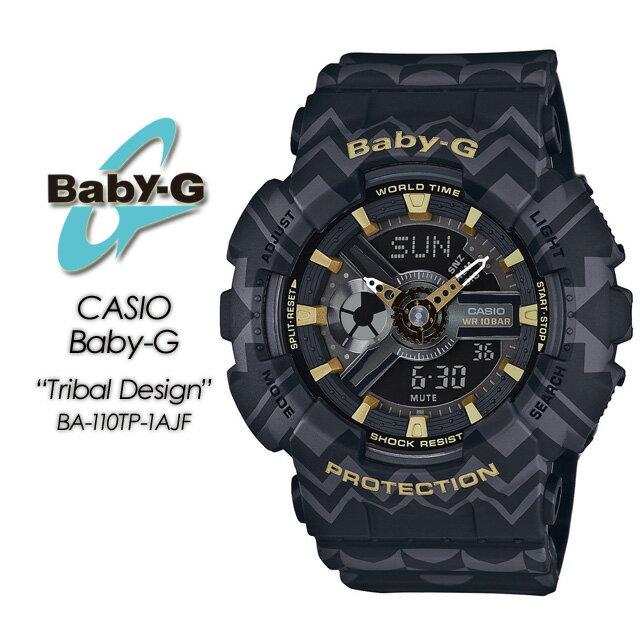 腕時計, レディース腕時計  G G- BA-110TP-1AJF Baby-GTribal Design CASIO