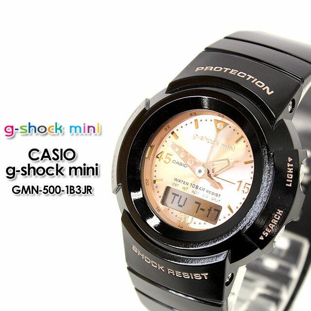 腕時計, レディース腕時計 G- g-shock mini GMN-500-1B3JR blackpink gold CASIOG-SHOCK g G G