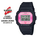G-ショック GショックDW-5600TCB-1JR CASIO G-SHOCK【カシオ ジーショック】【SAKURA STORM】 腕時計 国内正規品