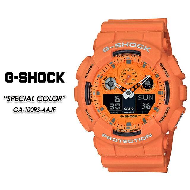 腕時計, メンズ腕時計 G- G GA-100RS-4AJF CASIO G-SHOCK SPECIAL COLOR