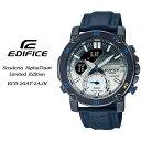 EDIFICE【エディフィス】Scuderia AlphaTauri Limited Edition 【Scuderia AlphaTauri コラボレーションモデル】 メンズ 男性用 腕時計 / ECB-20AT-2AJR CASIO