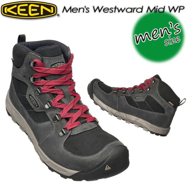 登山・トレッキング, 靴・ブーツ SALE30OFF! KEENMens Westward Mid WP WP 1016998 GargoyleBlack