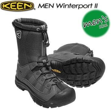 ★送料無料★ キーン【KEEN】MEN Winterport 2【ウィンターポート2】トレッキング 男性用 メンズ ウォータープルーフ ウィンターブーツ スノーブーツ 1017505