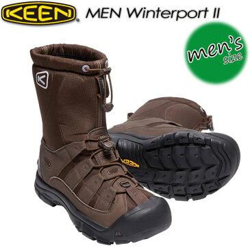 ★送料無料★ キーン【KEEN】MEN Winterport 2【ウィンターポート2】トレッキング 男性用 メンズ ウォータープルーフ ウィンターブーツ スノーブーツ 1017506