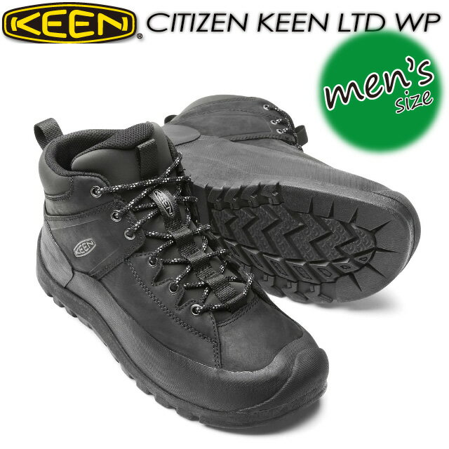 登山・トレッキング, 靴・ブーツ KEEN CITIZEN KEEN LTD WP 1015140 Black