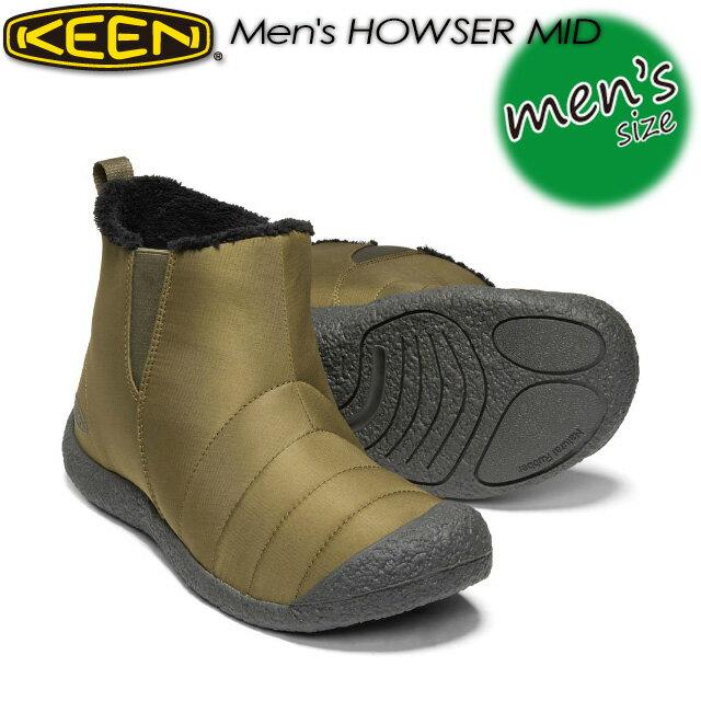 メンズ靴, スノーシューズ KEEN MEN HOWSER MID 1019620