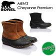 ★SALE50%OFF!送料無料★ 【SOREL】ソレル 【Cheyanne Premium】シャイアンプレミアム NM1562 ブーツ メンズ 男性用