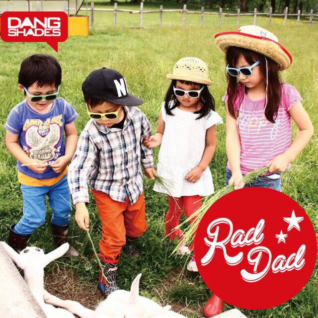 眼鏡・サングラス, サングラス  DANG SHADES RAD DAD YellowOrange x Black vidg00153