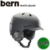 【bern】バーン 【WATTS DELUXE】メンズ 男性用 SM25BMGRY ヘルメット / スキー / スノーボード / スケートボード / 自転車 SA-LE