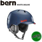 【bern】バーン 【WATTS DELUXE】メンズ 男性用 SM25BMNVY ヘルメット / スキー / スノーボード / スケートボード / 自転車 SA-LE