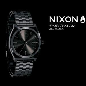 NIXON【ニクソン】【THETIMETELLER】ALLBLACKNA327646腕時計ユニセックス男女兼用