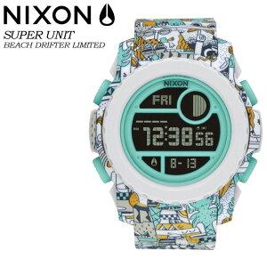 ニクソン NIXON 【SUPER UNIT】BEACH DRIFTER LTD NA9212355-00 腕時計 メンズ 男性用