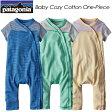 Patagonia 【パタゴニア】Baby Cozy Cotton One-Piece 【ベビー コージー コットン ワンピース】レギュラー・フィット ロンパース / カバーオール 60251