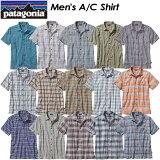 ★SALE30%OFF!送料無料★ Patagonia【パタゴニア】Men's A/C® Shirt 【メンズ A/Cシャツ】レギュラー・フィット 半袖 チェック オーガニックコットン アウトドア 52921