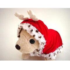 ペットパラダイス トナカイケープ M 中型犬用 犬服 柴犬・キャバリア・ビーグル等 X'mas クリスマス PET PARADISE[ペットの雑貨屋さん spring]