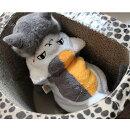 ニャンコ先生変身着ぐるみSMLXL小型犬犬服猫服コスプレコート