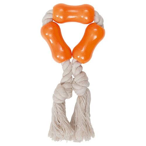 ペティオ デンタルTOY ロープ&チューブ S 犬用 おもちゃ 超小型犬~小型犬 歯垢除去 ハミガキ
