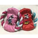 スリーアローズ Disney フリスビートイ ミッキー・ミニー コットンロープ 犬用 おもちゃ TOY その1