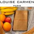 ルイーズカルメンパリトラベルオーガナイザー牛本革ヨーロピアンカウレザー手帳カバーフランス製カラフルバリエーション10色