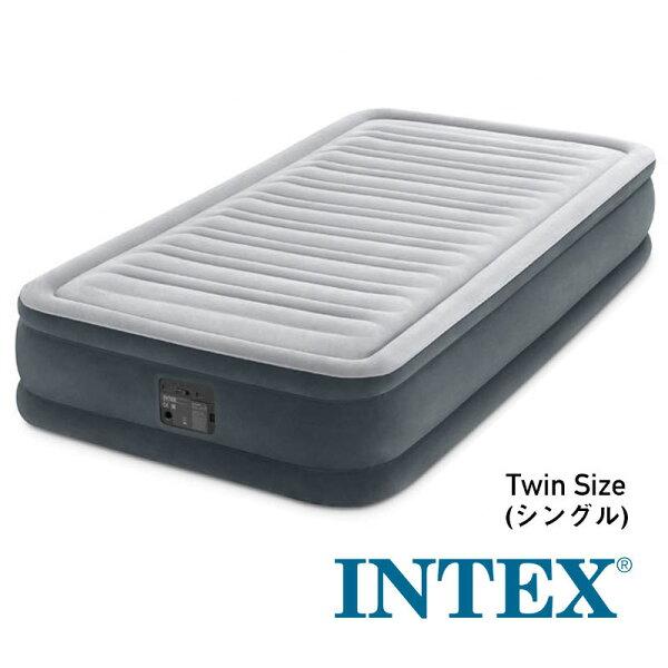 ■正規販売店U-67765/67765INTEX(インテックス)エアーベッド191×99×33cmTWINツインコンフォートシン