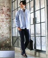 シャツメンズ長袖ボタンダウンシャツオックスフォード7分袖トップスメンズファッションカジュアル長袖シャツコットンシャツチェックシャツ