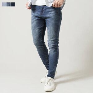 スキニーパンツ スキニーデニム デニムパンツ メンズ メンズファッション ジーンズ ストレッチ キャロットフィット 裾幅 狭い 5ポケット