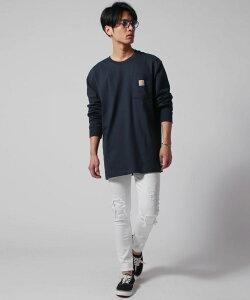 CARHARTT カーハート カットソー メンズ 長袖 Tシャツ M L XL 春 秋 冬 オーバーサイズ 綿100% M Workwear Pocket LS T Shirt
