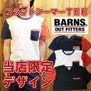 BARNS Tシャツ バーンズ 半袖 barns outfitters...