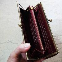 イタリアンレザーがま口財布がまぐち財布ウォレットガマグチレザー財布がま口長財布コインケースイエローカラフル送料無料ブランドおすすめサイフカード入れ小銭入れ本革メンズレディースユニセックスオシャレ