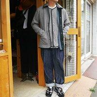 ボンバーヒートジャケットワークジャケットメンズツイードジャケットヴィンテージカバーオール裏起毛日本製オーディエンスUpscapeAudienceaud2961世田谷ベース