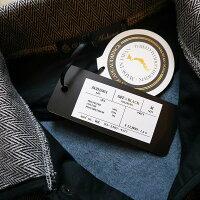 ライナーカーディガンメンズライナージャケットインナージャケットミリタリージャケットノーカラージャケット黒ブラックキルティングジャケット日本製オーディエンスUpscapeAudienceaud2909世田谷ベース