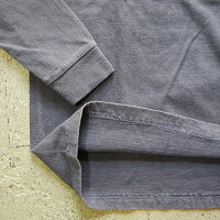 BARNSバーンズロンTメンズシャツTシャツピグメント加工プリントTバックプリントバーンズアウトフィッターズ日本製コットンBARNSOUTFITTERSかわいいおすすめ人気服世田谷ベースbr-8211