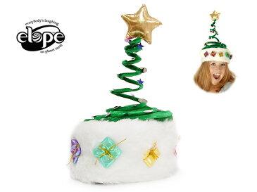 ☆ELOPE【イロープ】SPRINGY CHRISTMAS TREE スプリンギー クリスマス ツリー 11695 14280 帽子[ハロウィン ハロウィーン Halloween コスチューム コスプレ 誕生日 イベント お祝い 宴会 衣装 ]イースター 10P26Mar16