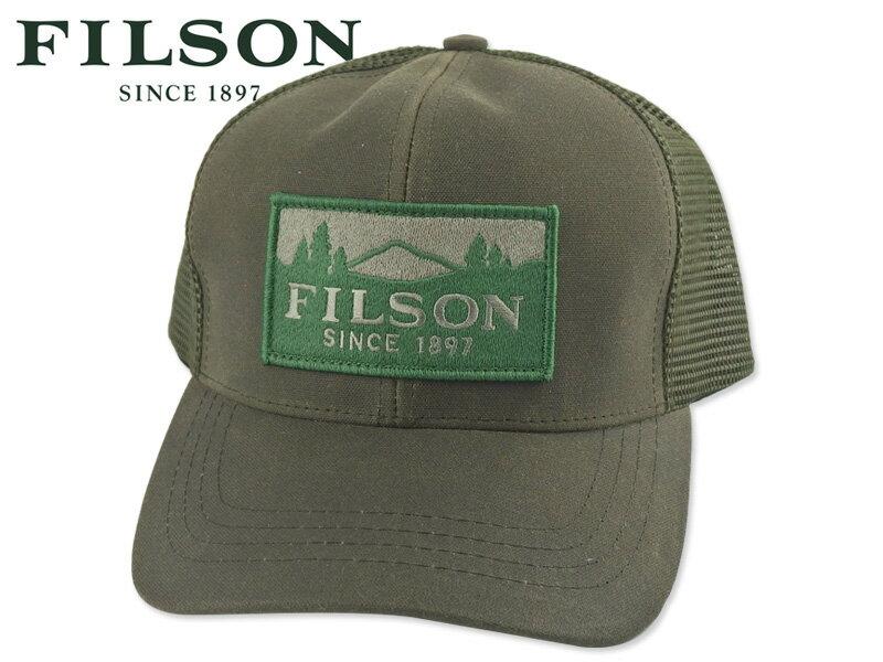 メンズ帽子, キャップ FILSONLOGGER MESH CAP Olive 17883 10P05Oct15
