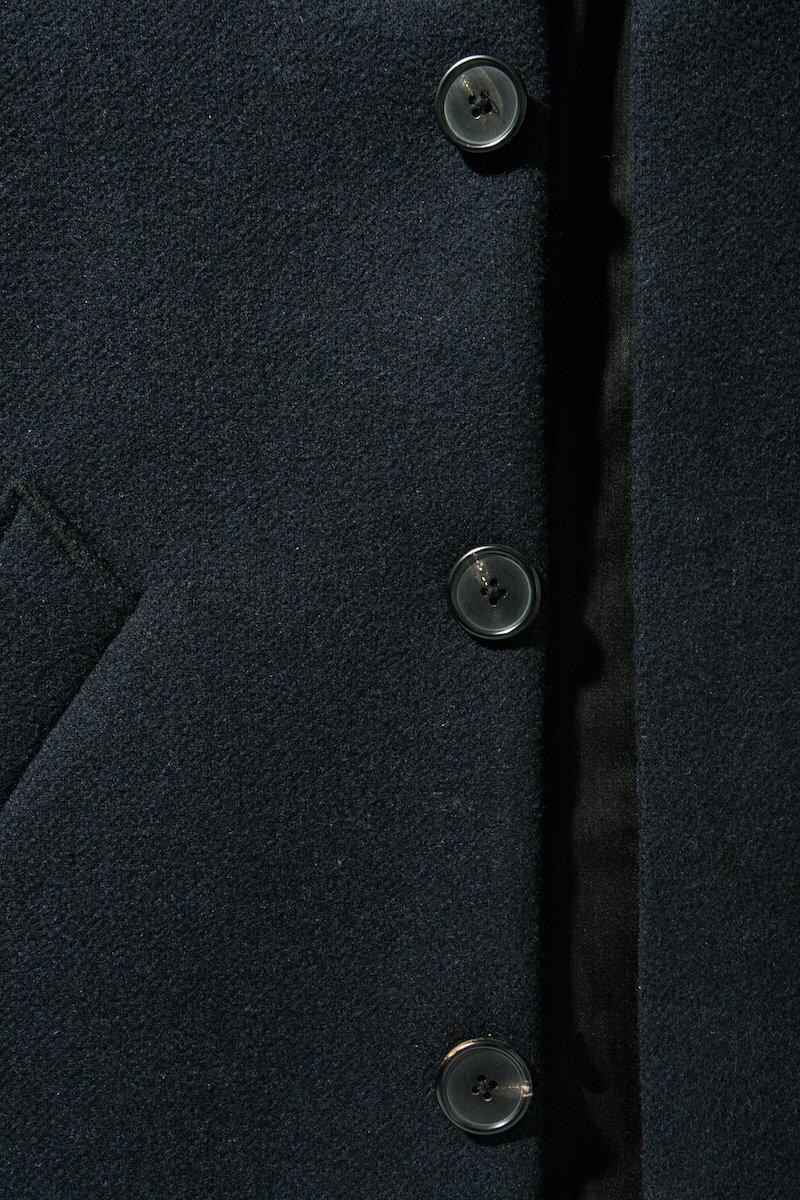 【あす楽対応】★★Saturdays Surf NYC Morgan Wool Coat サタデーズサーフ チェスターコート コート ミッドナイト ウール