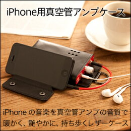 iPhone用真空管アンプケース