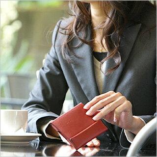 グッドデザイン賞受賞【薄い財布】abrAsus/アブラサス レディース財布 小銭入れ 付き 二つ折り財布 薄型。携帯性,機能性,デザイン性,バランスを追及した本革財布。女性へのプレゼント、ギフトにも。極小財布/ミニ財布/小さい財布/お財布/牛革/革財布/レザー/彼女