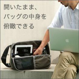 必要な物にその都度アクセスペン立てみたいなバッグ