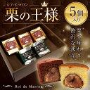 マロンケーキ 5個入ロアドマロン プレーン&ショコラ ギフト お菓子
