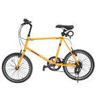 ミニベロ小径車自転車20インチロードシマノ7段変速小径自転車通勤通学7段ギア街乗りおしゃれスポーツプレゼントスピードスタイリッシュ