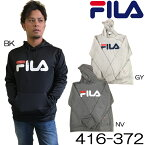 NEW!!【416-372】 FILA 長袖 ロングパーカー 男性用文字プリント トップス フィラ エクササイズ フィットネス 05P12Oct14